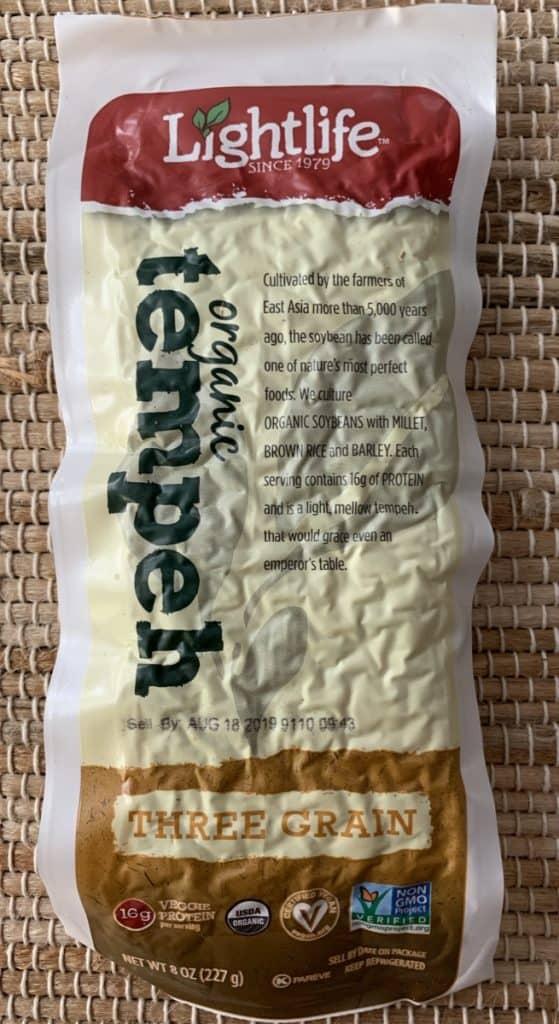 Lightlife packaged tempeh