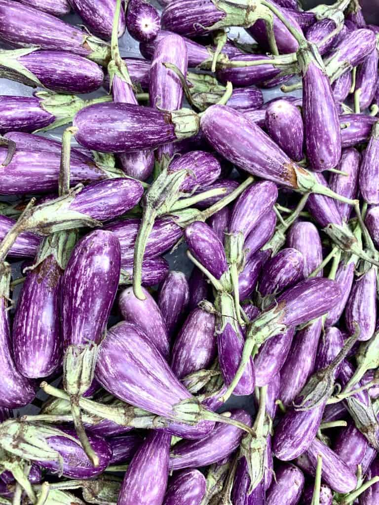 Full batch of Fairy Tale Eggplant