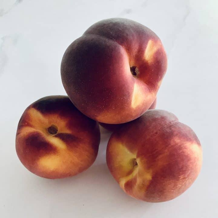 4 Whole Peaches