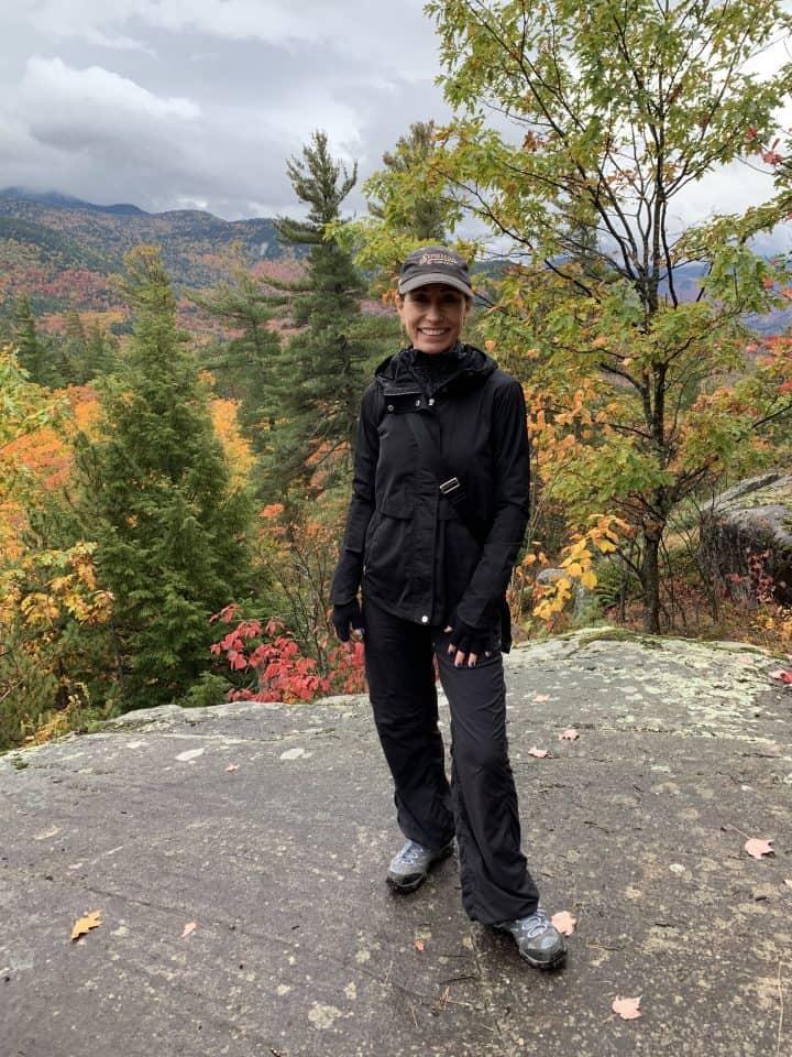Chef Cindy on an Autumn Hike