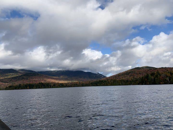 Boating on Lake Placid