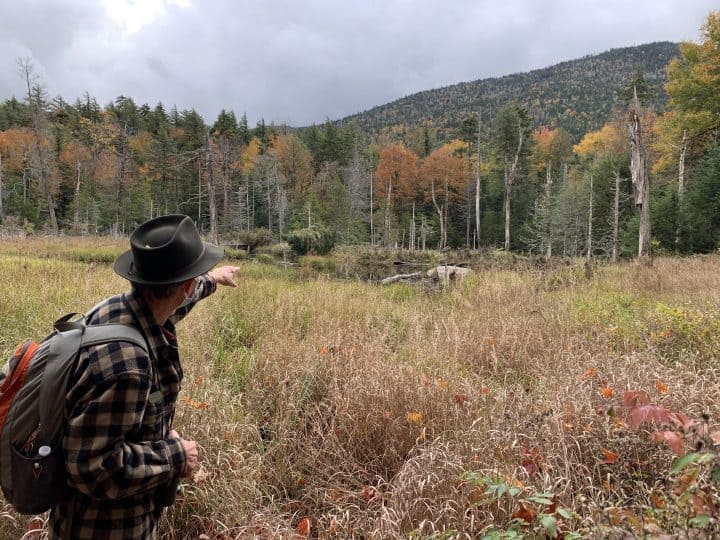 Guided hike in Lake Placid
