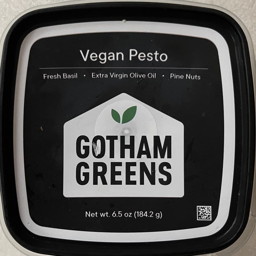 Packaged Vegan Pesto by Gotham Greens